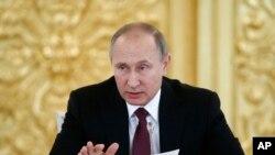 Presiden Rusia Vladimir Putin (Foto: dok).