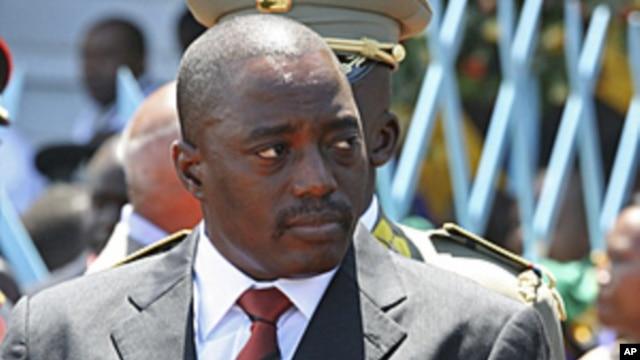 Democratic Republic of Congo's President Joseph Kabila. (file photo)