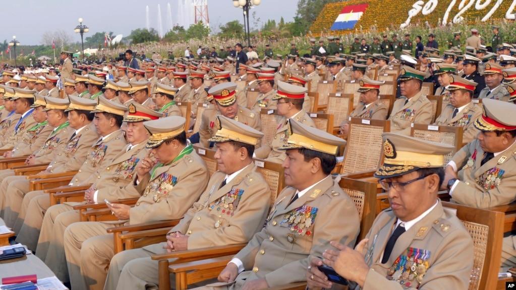 В Мьянме состоялся военный парад в честь 72-летия создания Вооруженных сил