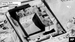 В'язниця в Сирії з будинком крематорії (фото DigitalGlobe)