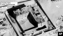 تصویر ارائه شده از وزارت خارجه آمریکا مربوط به نیمه ژانویه ۲۰۱۵ از کوره آدمسوزی در مجموعه زندانی در سوریه