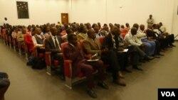 Dirigentes religiosos reunidos no Lubango
