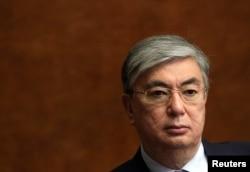 Kazakhstan Speaker of the Senate Kasymzhomart Tokayev is shown while in Geneva, May 11, 2011.