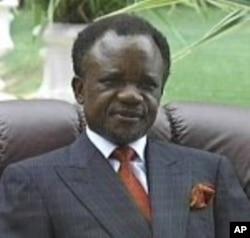 Zambia's former President Frederick Chiluba