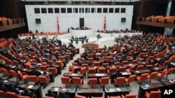 Một phiên họp của Quốc hội Thổ Nhĩ Kỳ
