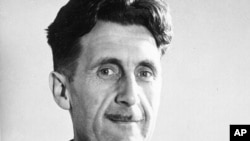 "FILE - This undated file photo shows writer George Orwell, author of ""1984."" Sales for such dystopian classics as George Orwell's ""1984"" and Aldous Huxley's ""Brave New World"" have been strong since news broke last week that the government had a vast surveillance program."