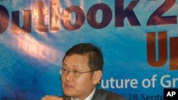 Asian Development Bank economist Lee Jong-wha