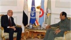 ملاقات فیلد مارشال طنطاوی و محمد البرادعی در قاهره. ۲۶ نوامبر ۲۰۱۱