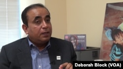 Arif Mehmood, M.D., programs director for Alexandria-based United Muslim Relief.