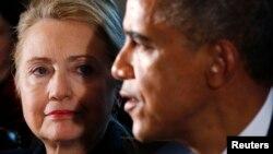 El presidente Barack Obama tuvo elogios para Hillary Clinton, pero también para su rival en la campaña demócrata, Bernie Sanders.
