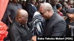 Nana Akufo Addo madugun adawa da John Dramani Mahama shugaban kasar Ghana mai ci yanzu