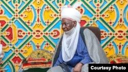 Sarkin Daura Mai Martaba Dr. Umar Faruk a fadarsa