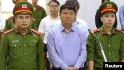 Đinh La Thăng: 'Hãy đối xử với bị cáo như một con người!'.