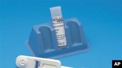 El dispositivo llamado OraQuick, producido por la empresa estadounidense OraSure Technologies, requiere tomar una muestra de saliva en una vara de algodón y tarda entre 20 y 40 minutos en arrojar los resultados.