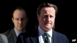 Perdana Menteri Inggris David Cameron (Foto: dok).
