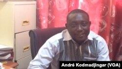 Gadengar Roasna Rodrique, directeur de l'assainissement de la mairie de N'Djamena, le 20 mars 2020. (VOA/André Kodmadjingar)