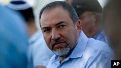 Le ministre de la Défense israélien Avigdor Lieberman, qui a démissionné le 14 novembre 2018.