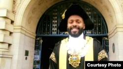 Magid Magid, the 12nd Lord Mayor of Sheffield, is the first Somali-born mayor in the city and the youngest ever. (Photo courtesy of the office of Magid Magid)