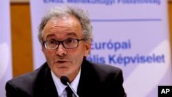 Direktur UNHCR biro Eropa Vincent Cochetel mengecam pemimpin Uni Eropa yang melarang para migran datang ke Eropa (foto: dok).