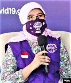 Dr. Masdalina Pane, epidemiolog dari Perhimpunan Ahli Epidemiologi Indonesia (VOA/screenshot).