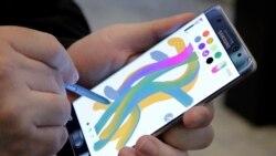 Samsung ဖုန္းအမ်ိဳးအစားသစ္ ေလယာဥ္ေပၚ မီးေလာင္