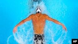 Michael Phelps, le 28 juin 2016, Omaha, Nebraska.(AP Photo/Mark J. Terrill)