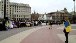 Євромайдан у Барселоні зібрав тисячі євро для Києва