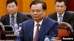 Ông Đinh Tiến Dũng hiện là Bí thư Thành ủy Hà Nội, sau khi từng giữ chức Bộ trưởng Tài chính.