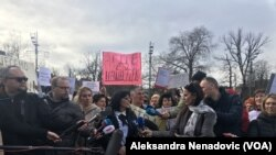 "Udruženje ""Beogradska grupa roditelja nestalih beba"", Foto: VOA"