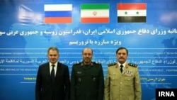 İran, Rusiya və Suriyanın müdafiə nazirləri