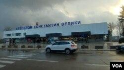 """Aerodrom """"Konstantin Veliki"""", Niš, južna Srbija, 10. decembra 2018."""