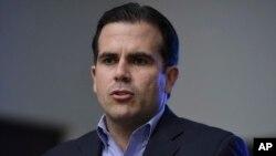 Gavana wa Puerto Rico, Ricardo Rossello