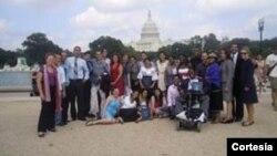 Los jóvenes estudiantes no necesitan hablar inglés y todos los gastos están cubiertos por la embajada estadounidense.[Foto: Cortesía, Embajada de EE.UU. en Ecuador].