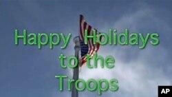 美国国防部向军人节日致敬