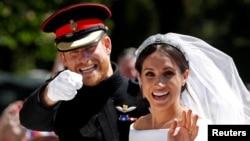 Princ Hari i Megan Markl na venčanju (Foto: REUTERS/Damir Sagolj/File Photo)