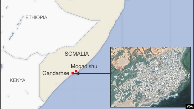 Gandarhse, Somalia
