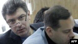 Борис Немцов и Владимир Милов