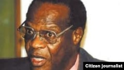 Registrar General Tobaiwa Mudede.