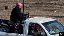 دهها گروه مسلح در سوریه حضور دارند.