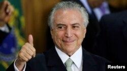 Braziliyaning muvaqqat Prezidenti Mishel Temer