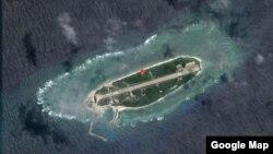 太平岛俯览图