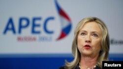 Državna sekretarka Hilari Klinton sa samitu APEK-a u Vladivostoku