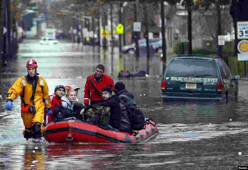 Штат Нью-Джерси. Эвакуация