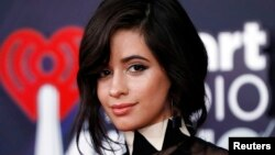 Camila Cabello attends at the iHeartRadio Awards in Los Angeles, California, March 11, 2018.