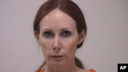 FILE - Shannon Richardson is pictured in this booking photo, courtesy of Titus County Sheriff's Office.
