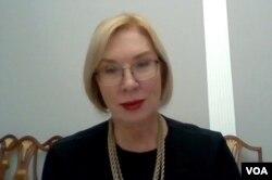 Людмила Денісова, уповноважена з прав людини Верховної Ради