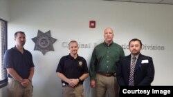 Nugrahadi Yuwono (pejabat KJRI LA) setelah bertemu dengan Arizona Department of Public Safety hari Senin (19/05).