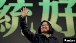 台湾当选总统蔡英文