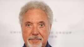 Tom Jones arrives at the NARM Music Biz 2013 Dinner Party at the Hyatt Regency Century City Plaza Hotel on May 9, 2013 in Century City, Calif.