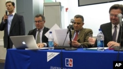 Panelists at American University discussion on Tunisia called on the US administration to find the delicate balance between assistance and interference